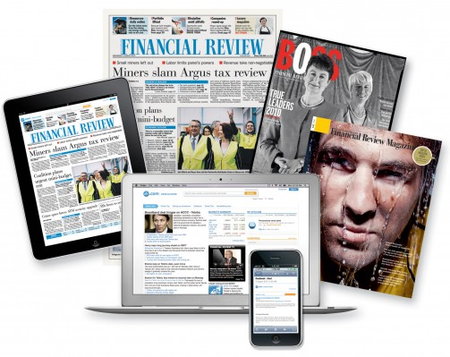 The AFR subscriptions